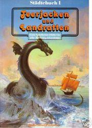 Cover des Buches: Eine Seeschlange greift ein Schiff an